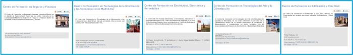 Centros Propios de Formación para el Empleo de la Comunidad de Madrid
