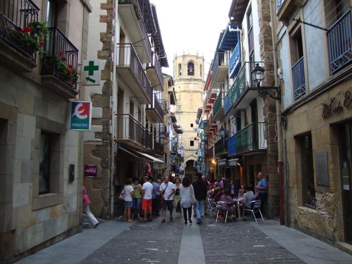 Calles típicas de Guetaria